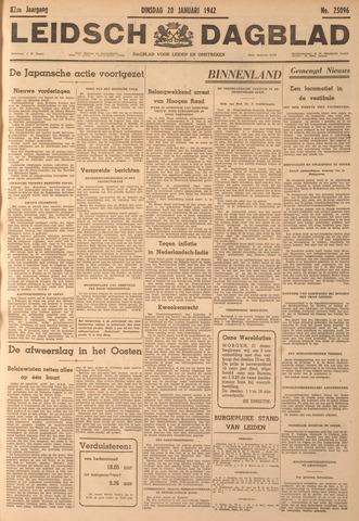 Leidsch Dagblad 1942-01-20