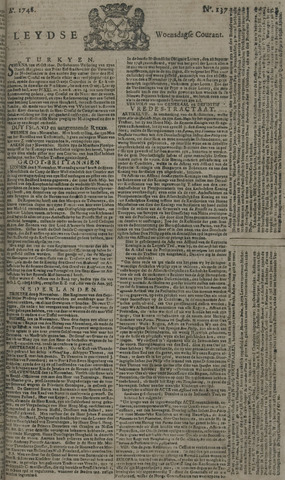 Leydse Courant 1748-11-13