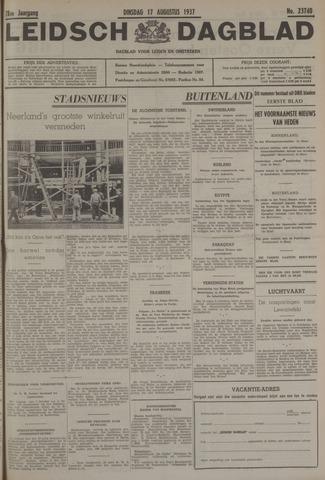 Leidsch Dagblad 1937-08-17