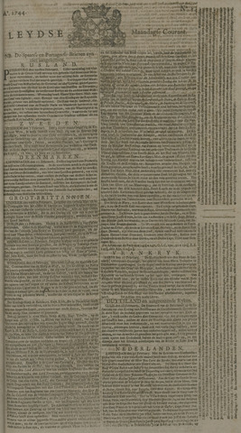Leydse Courant 1744-02-24