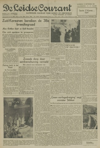 Leidse Courant 1950-09-30
