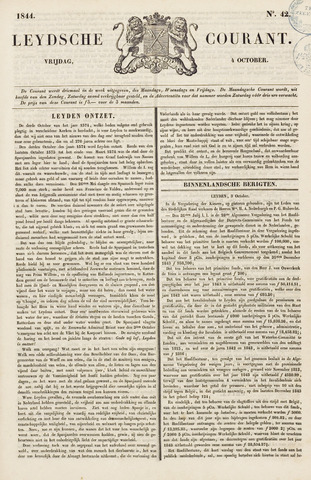Leydse Courant 1844-10-04