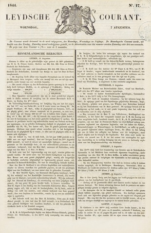 Leydse Courant 1844-08-07
