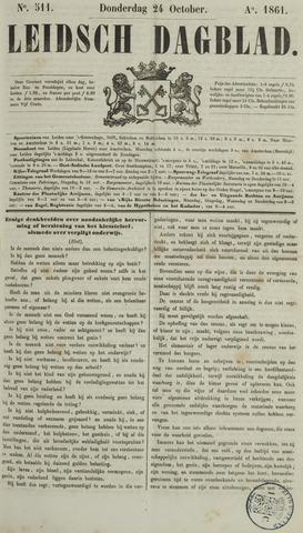 Leidsch Dagblad 1861-10-24