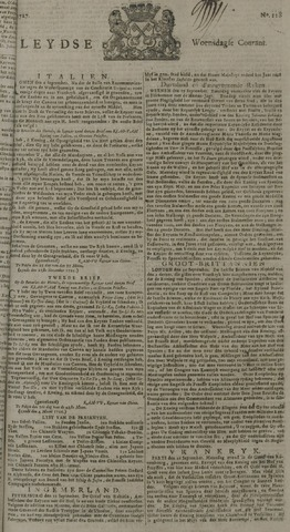 Leydse Courant 1727-10-01