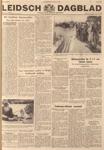 Leidsch Dagblad 1949-07-21