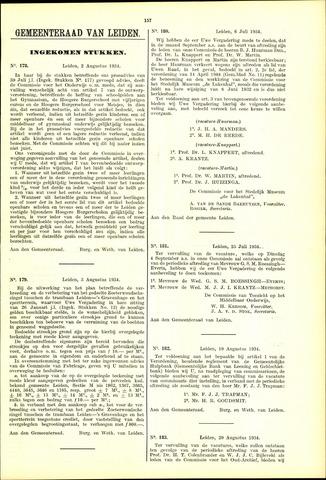 Handelingen van de Raad 1934-08-02