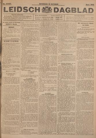 Leidsch Dagblad 1926-10-16