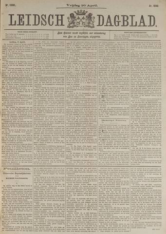 Leidsch Dagblad 1896-04-10