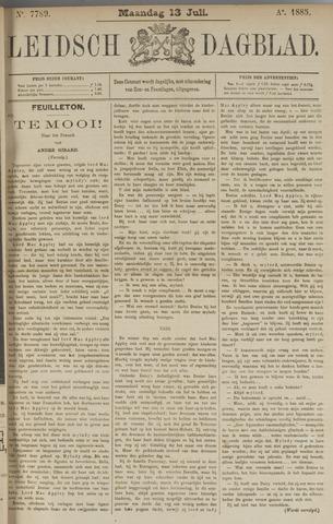 Leidsch Dagblad 1885-07-13