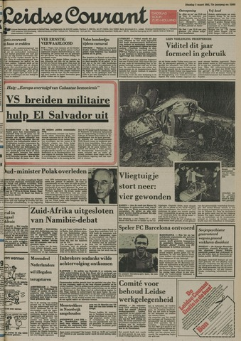 Leidse Courant 1981-03-03