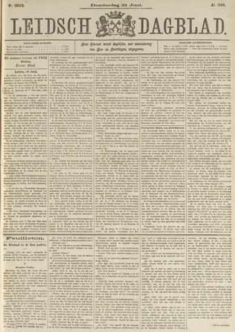 Leidsch Dagblad 1894-06-21