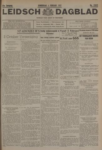 Leidsch Dagblad 1937-02-04