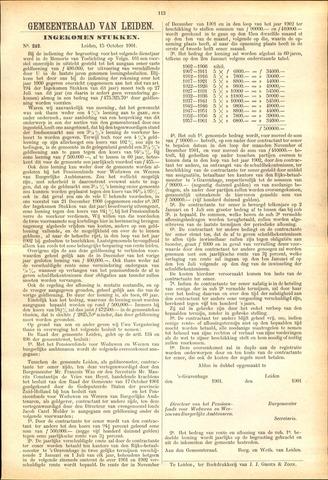Handelingen van de Raad 1901-09-02