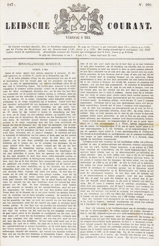 Leydse Courant 1871-05-05