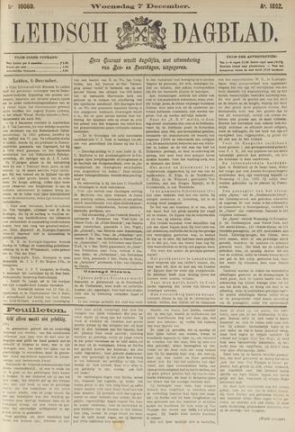 Leidsch Dagblad 1892-12-07