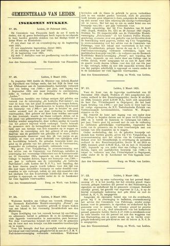 Handelingen van de Raad 1925-02-28