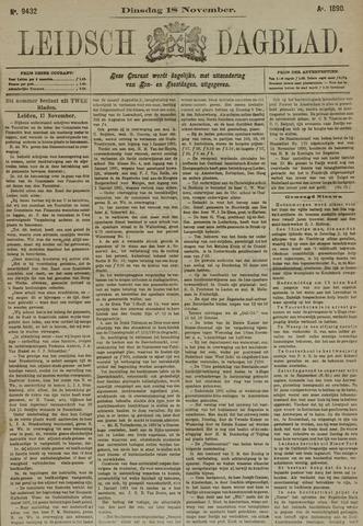 Leidsch Dagblad 1890-11-18
