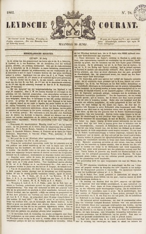Leydse Courant 1862-06-30