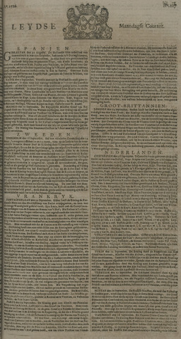 Leydse Courant 1726-09-30
