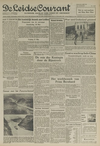 Leidse Courant 1954-05-04