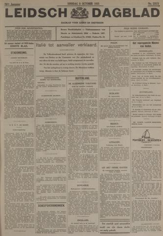 Leidsch Dagblad 1935-10-08