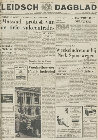 Leidsch Dagblad 1968-05-22