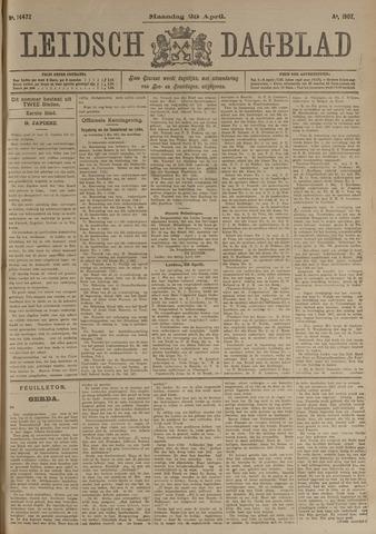 Leidsch Dagblad 1907-04-29
