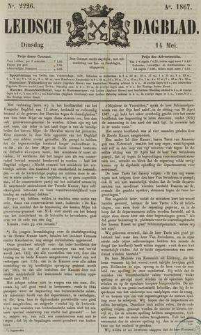 Leidsch Dagblad 1867-05-14