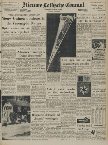 Nieuwe Leidsche Courant 1957-08-17