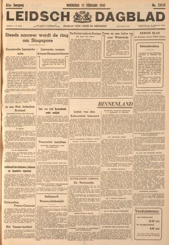 Leidsch Dagblad 1942-02-11