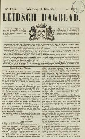 Leidsch Dagblad 1863-12-10