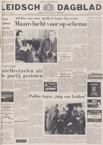 Leidsch Dagblad 1968-12-14
