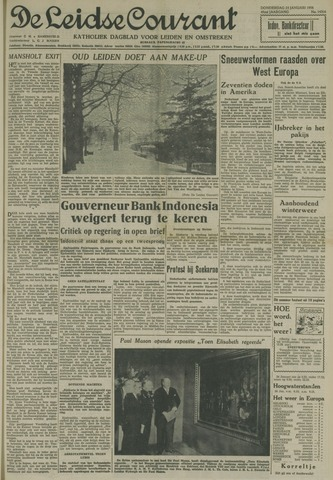 Leidse Courant 1958-01-23