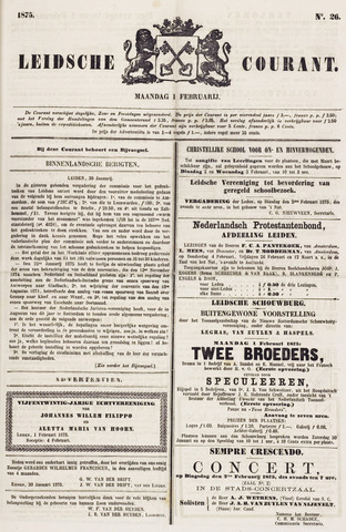 Leydse Courant 1875-02-01