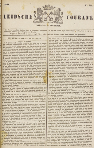 Leydse Courant 1883-11-17