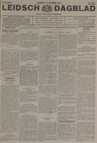 Leidsch Dagblad 1935-09-25