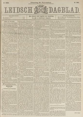 Leidsch Dagblad 1893-11-21