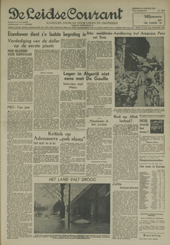 Leidse Courant 1960-01-19