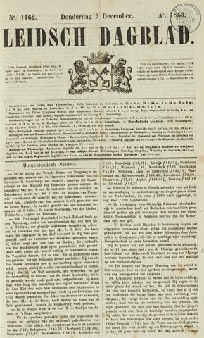 Leidsch Dagblad 1863-12-03