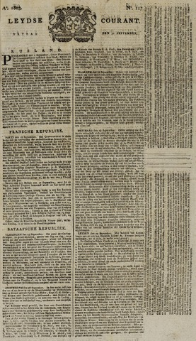 Leydse Courant 1803-09-30
