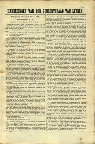 Handelingen van de Raad 1867-10-10