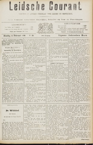 Leydse Courant 1890-02-11