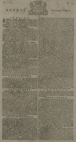 Leydse Courant 1739-12-23