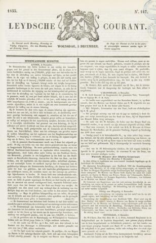 Leydse Courant 1855-12-05