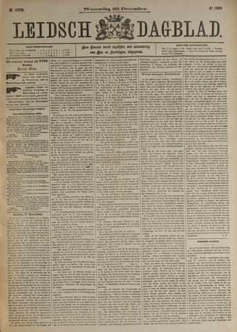 Leidsch Dagblad 1896-12-23