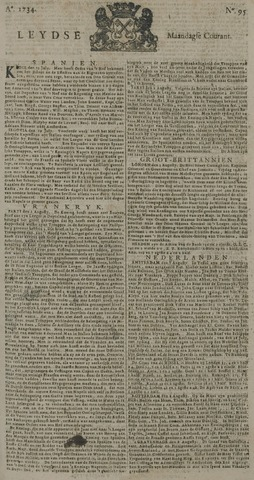 Leydse Courant 1734-08-09