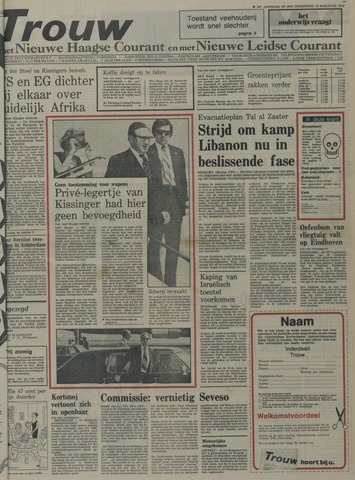 Nieuwe Leidsche Courant 1976-08-12