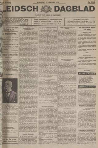 Leidsch Dagblad 1933-02-01