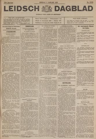Leidsch Dagblad 1933-01-03